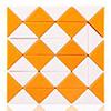 Snake QiYi 36 blocs orange/blanc