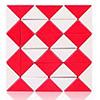 Snake QiYi 36 blocs rouge/blanc