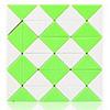 Snake QiYi 36 blocs vert/blanc