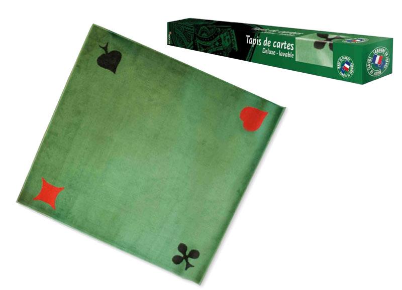 France Cartes  Jeu de carte  Tapis Feutre Vert Roi (France cartes)