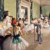 La classe de danse - Degas - puzzle Michèle Wilson 50 pièces