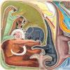 Dinos en folie - Tard - puzzle Michèle Wilson 24 pièces