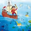 Les pirates - Vanvolsem  - puzzle Michèle Wilson 24 pièces BOITE KRAFT
