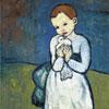 L'enfant à la Colombe - Picasso - puzzle Michèle Wilson 24 pièces