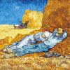 La Méridienne - Van Gogh - puzzle Michèle Wilson 24 pièces