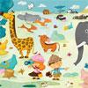 Safari Photo - Huette - puzzle Michèle Wilson 24 pièces