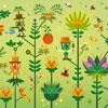 Le Monde Vegetal - Guillaumit - puzzle Michèle Wilson 12 pièces