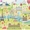 Paris illustré - MAGDA - puzzle Michèle Wilson 24 pièces