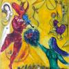 La Danse - Chagal - puzzle Michèle Wilson 12 pièces