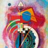 Hommage A Grohmann - Kandinsky - puzzle Michèle Wilson 12 pièces