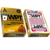 Cartes WPT Gold édition Red 100% Plastique