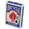 Cartes Bicycle JUMBO dos bleu
