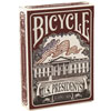 Cartes Bicycle US Presidents rouges