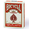 Cartes Bicycle PRESTIGE 100% plastic Jumbo rouge