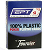 Cartes Fournier 100% Plastic EPT (blue)
