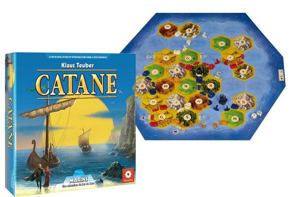 Les Colons de Catane : Les Marins de Catane  Extensions (1)  Un jeu de Klaus