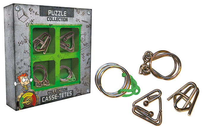 Set Casse-têtes Métal Junior (vert)