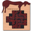 Chien (puzzle bois) Tombé sur un Os?