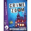 Crime Zoom: un écrivain mortel