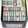 Dominos double 12 boîte métal
