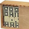 Dominos double 9 boîte bois