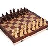 Echiquier 3 en 1 (échecs, dames, backgammon) 30cm