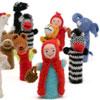 Marionnette à doigt à l'unité, 3 achetées + 1 offerte