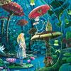 Alice Au Pays Des Merveilles - puzzle Michèle Wilson 100 pièces