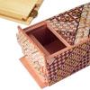 Boîte à secrets japonaise grande taille 5 sun 21 mouvements + tiroir secret