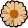 Marguerite (puzzle bois) Un peu, beaucoup, à la folie