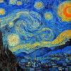 "Micro Puzzle  Wentworth ""Nuit étoilée"" - Van Gogh"