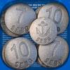 Jeu de palets bretons en fonte Détente (format loisir 6 paires 1 à 6)