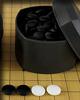 Pierres de Go 8x22mm avec bols plastique