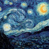 Nuit Etoilée - Van Gogh - puzzle Michèle Wilson 650 pièces