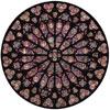 Rosace Notre Dame - XIII siècle - puzzle Michèle Wilson 80 pièces