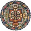 Mandala De Vajrabhairava - Art Tibétain - puzzle Michèle Wilson 150 pièces
