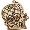 Globe 3D mobile en bois Mr Playwood (petit modèle)