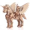 Licorne 3D mobile en bois (petit modèle) Mr Playwood