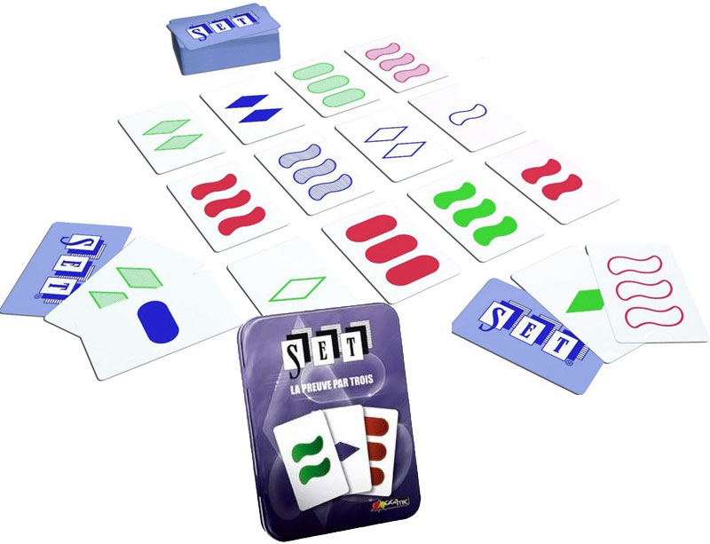 Jeux societe  Gigamic  JSET  Set : La preuve par trois  Jeu de Rapidité et