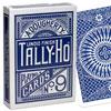 Cartes Tally-Ho Circle dos bleu