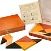 Tangram Speed Coffret (double tangram en bois massif)