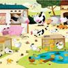 La Ferme Huette - puzzle Michèle Wilson 12 pièces